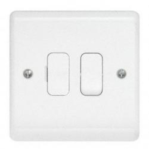 Contactum Aspire White Sockets and Switches