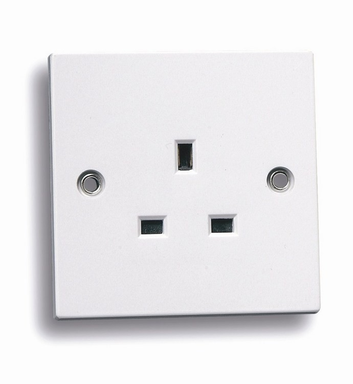 Niglon white sockets and switches