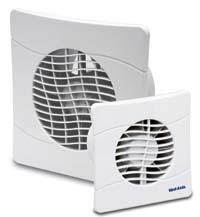 Vent Axia Slimline Extractor Fan 150mm With Timer And Shutters