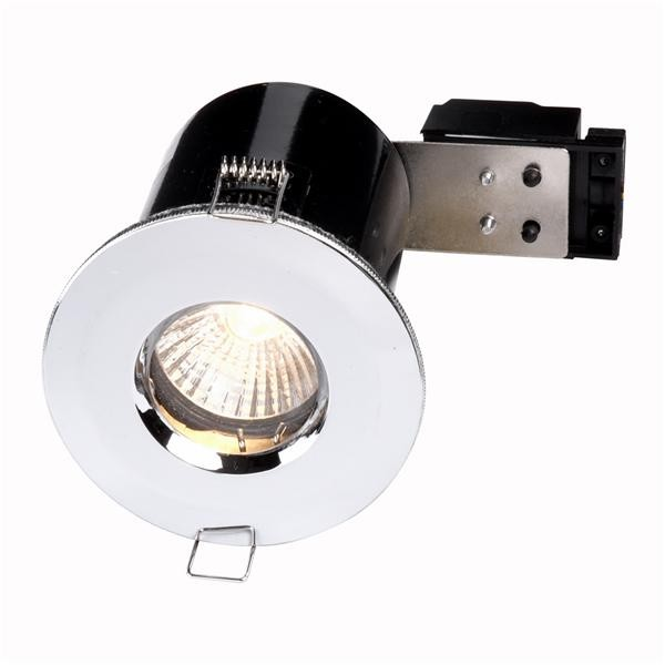 Bathroom Lights Gu10 rated downlights bathroom lights chrome gu10