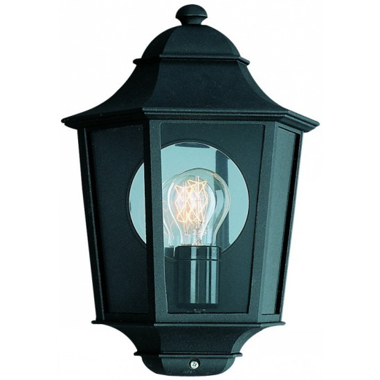 Half Lantern Wall Lights : Philips half wall Lantern outdoor lights