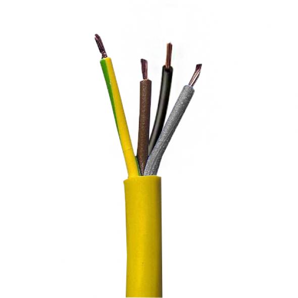 Arctic Flex Cable Yellow Per 100m 4 core 2.5mm