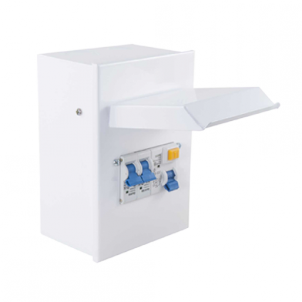 CTI Metal Amendment 3 Garage Consumer Unit