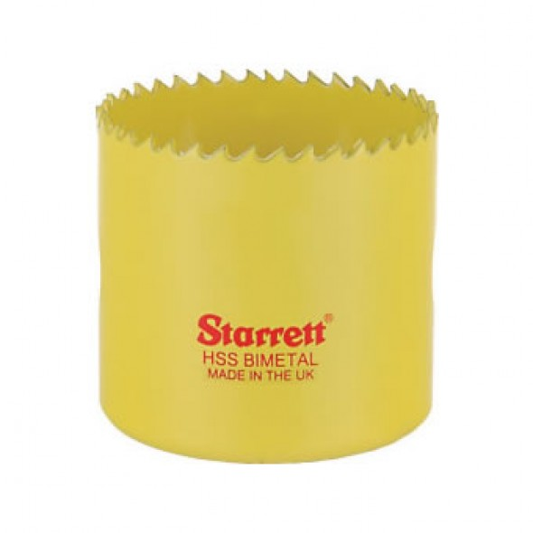 Starrett SH0212 Constant-Pitch Bi-Metal Hole Saw 65mm / 2 1/2 Inch