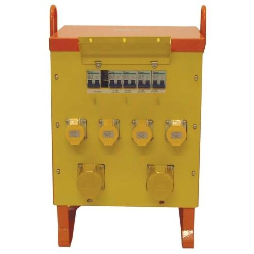 10 kVA 4x16A 2x32A Portable Site Transformer