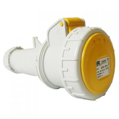 110v-yellow-straight-socket-16amp-2p-e-ip67