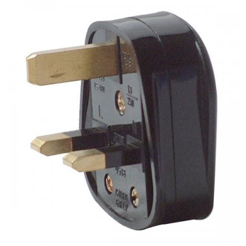 Plug top 13A black