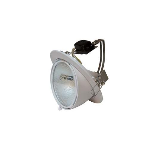 Commercial lights - Metal halide Tilt circular 150W white spotlight