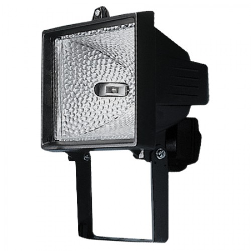 500W Black Halogen Floodlights