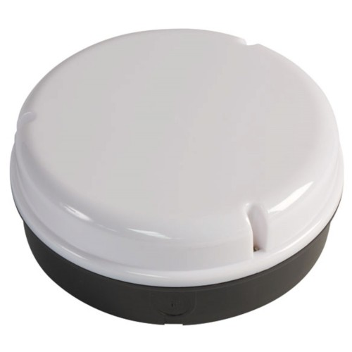 Wall lights RA 28W 2D Circular Bulkhead lights Black