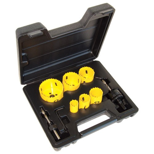 C.K Hole Saw Kit 8 Piece