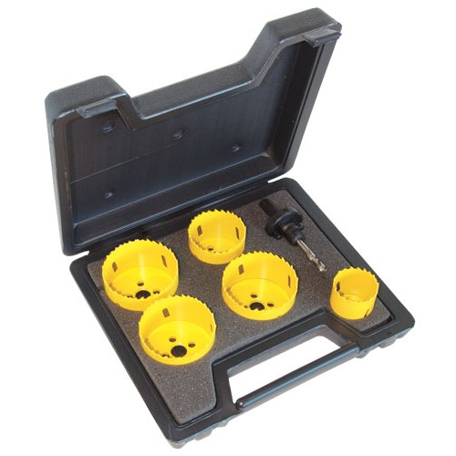 C.K Hole Saw Kit 6 Piece