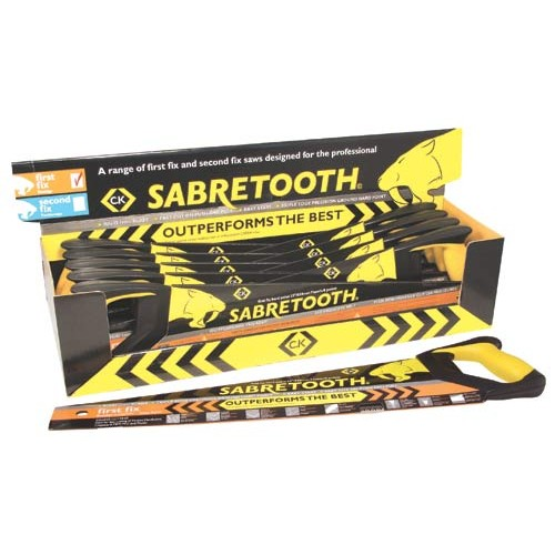 C.K Sabretooth Saw 1st Fix Counter Box Of 10