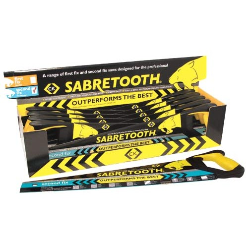 C.K Sabretooth Saw 2nd Fix Counter Box Of 10