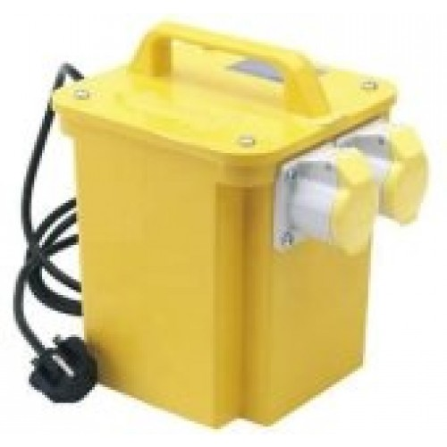 5kVA Twin Outlet Portable Site Transformer