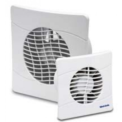 Vent-Axia slimline extractor fan 100mm with timer and shutters