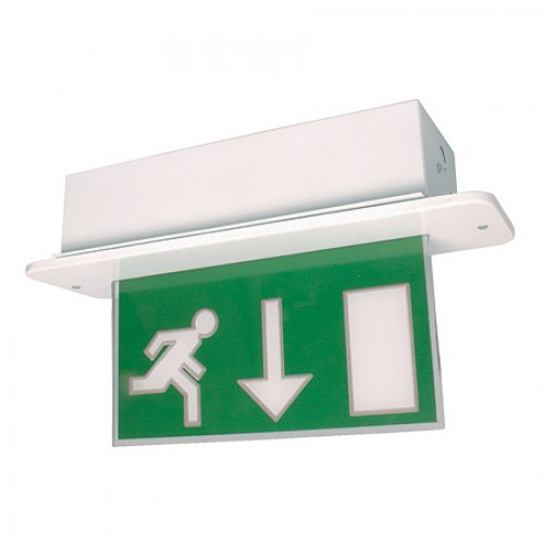Emergency Lights - Maintained LED Blade Exit Box