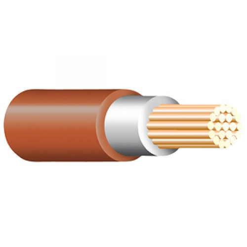 Brown Tri Rated Cable Per 100m 0.5mm
