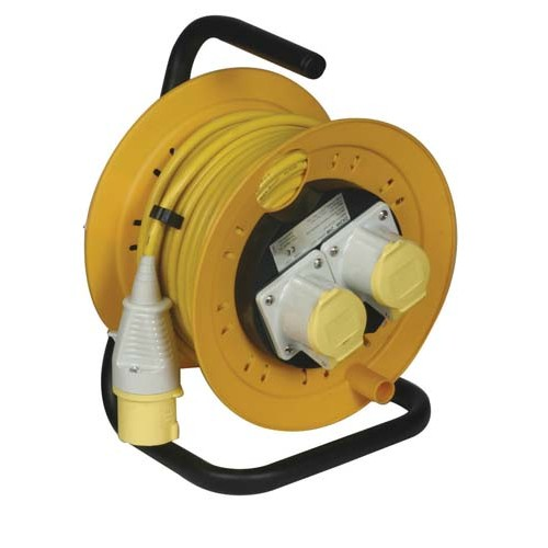 Site lights - Cable Reels 110V or 240V