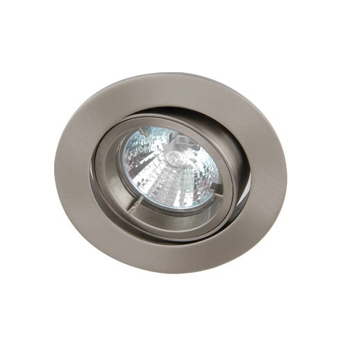 Satin Chrome Tilt Die-Cast GU10 Downlight