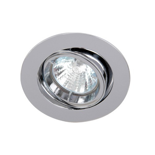 Chrome Die-Cast Tilt Downlight GU10