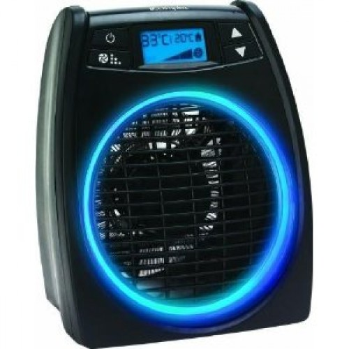 Dimplex 2kW Portable Black Upright fan Heater