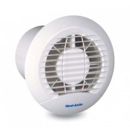 Vent-Axia Eclipse extractor fan 100mm with Pullcord and shutters