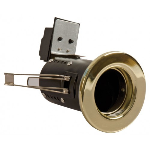 Fire Rated Downlights Brass GU10