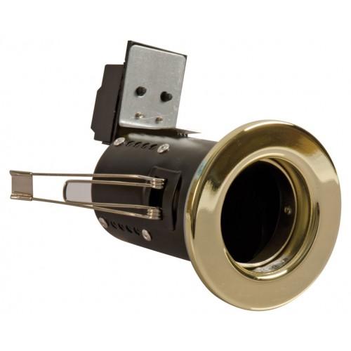 Fire Rated Downlights Brass GU10