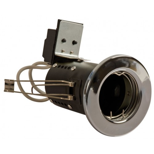 Fire Rated Downlights Chrome GU10