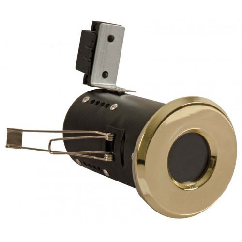 Fire Rated Downlights Bathroom lights Brass GU10
