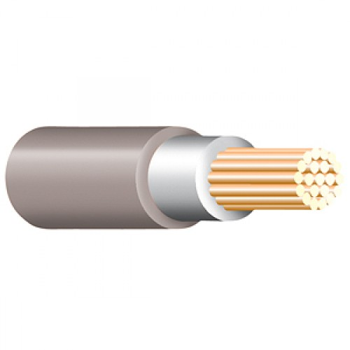 Grey Tri Rated Cable Per 100m 0.75mm