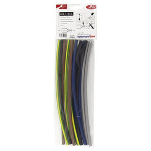 Heat Shrink 6mm-2mm 3:1 shrink ratio Mixed pack