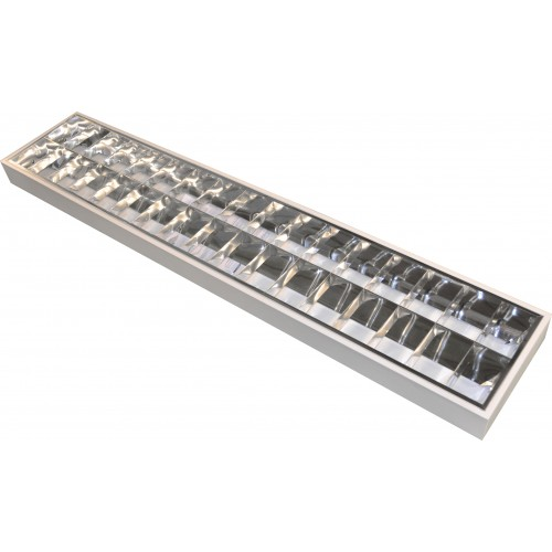 Modular Lighting - CAT2 Surface Mounted 2 x 58W with Emergency Back up