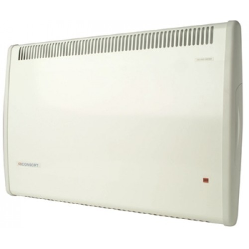500W White Splashproof Panel Heater with Thermostat