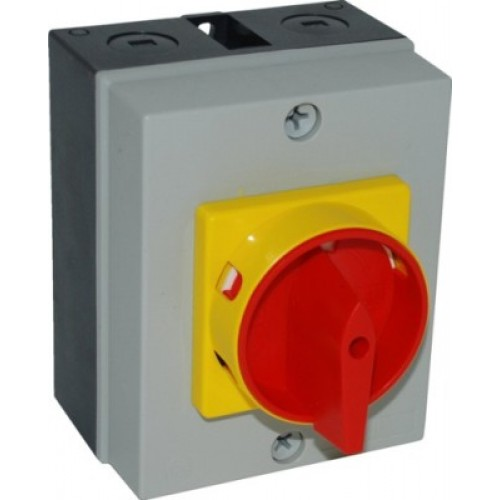 16-20A 3 pole rotary isolator