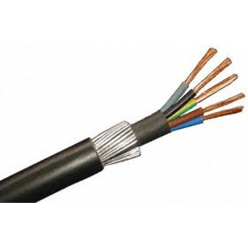 SWA LSF Cable Per Meter 5 core 4mm