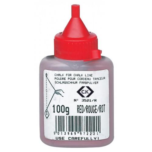 C.K Chalk Powder Red 100g