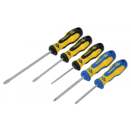 C.K Triton XLS Screwdriver - 5 Piece Set SL/PZ