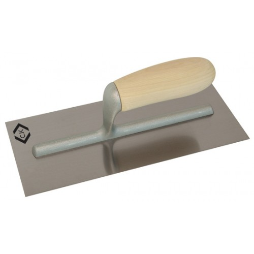 C.K Finishing Trowel Carbon Steel Wood Grip 280x120mm