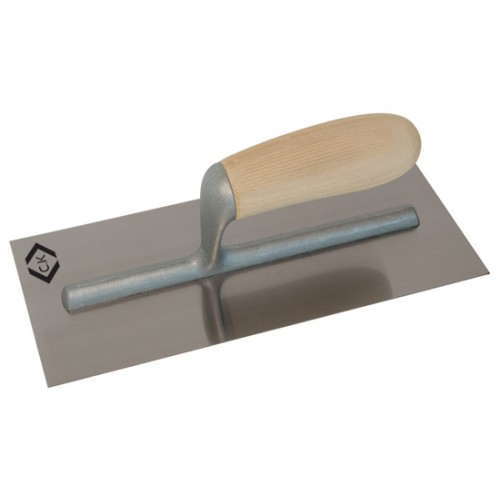 C.K Finishing Trowel Stainless Steel Wood Handle 280x120mm