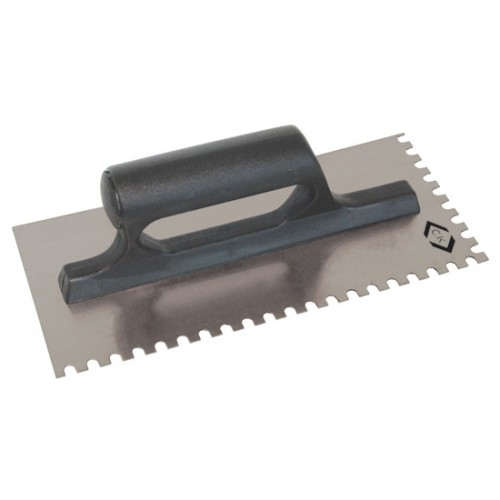 C.K Adhesive Trowel Carbon Steel 6mm Teeth 255x115mm