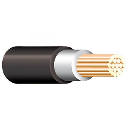 Black Tri Rated Cable Per Meter 10mm
