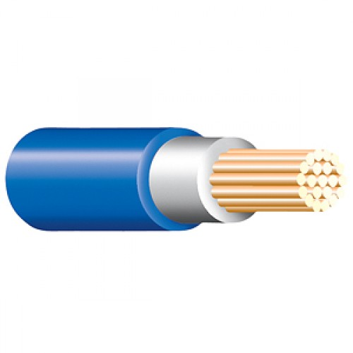 Blue Tri Rated Cable Per 100m 0.75mm
