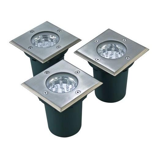 Walkover LED Decking Lights Square Kit 3 X 1W