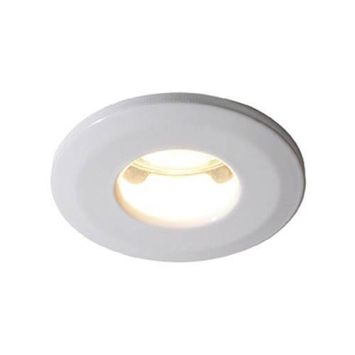 Bathroom lights Downlights IP65 White GU10