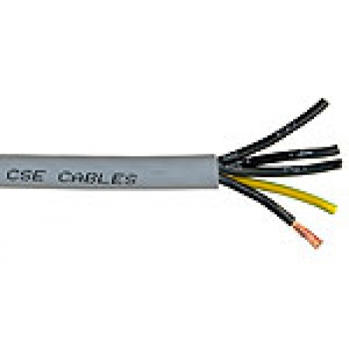 YY-Cable-Per Meter-0-75mm-5-core