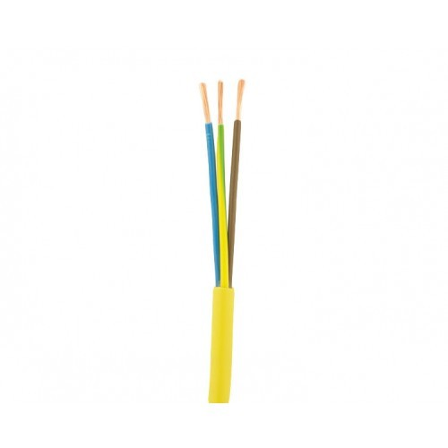 Arctic-Flex-Cable-Yellow-Per-Meter-2.5mm-3-core