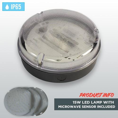 black-circular-weatherproof-ip65-bulkhead-15w-led-lamp-microwave-sensor