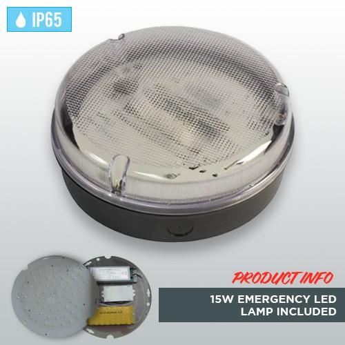 black-circular-weatherproof-ip65-bulkhead-with-15w-emergency-led-lamp